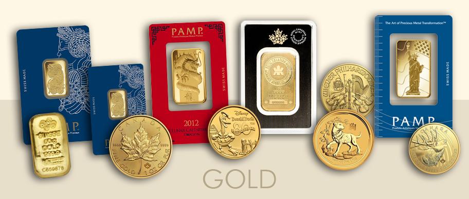 acquisto di monete d'oro