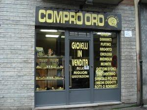 negozio compro oro