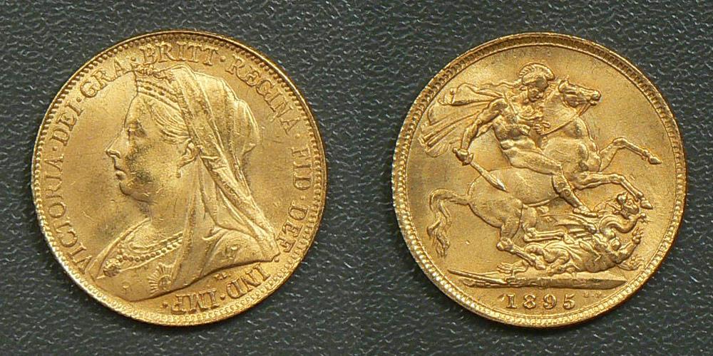 vendita sterlina d'oro
