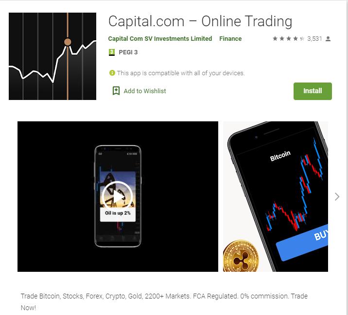 capital.com app recensioni